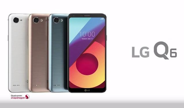 Le LG Q6 est disponible !