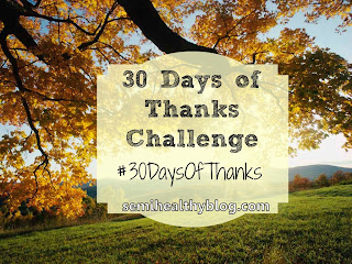 30 days of thanks challenge graphic