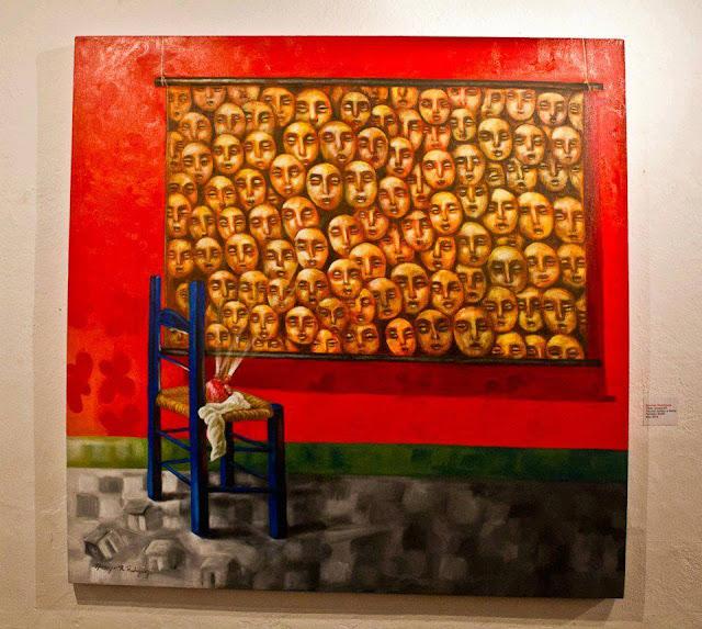 Narcizo Rodriguez - Projection, acrylic on canvas, 2012