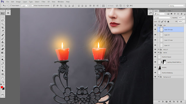 37 Design cover buku Novel dengan Photoshop CC part2