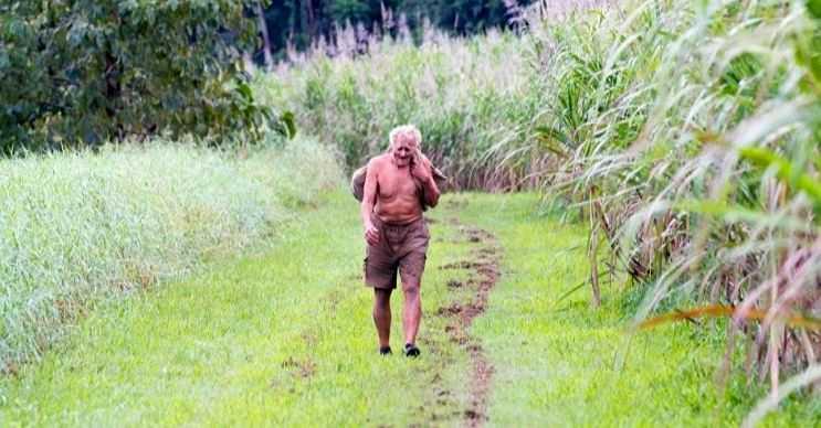 Michael Fomenko ormanda yaşamaya başlamadan önce ünlü bir sporcuydu.