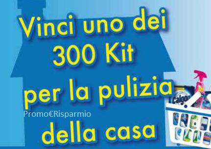 Promo risparmio vinci 300 kit per la pulizia della casa - Prodotti ecologici per la pulizia della casa ...