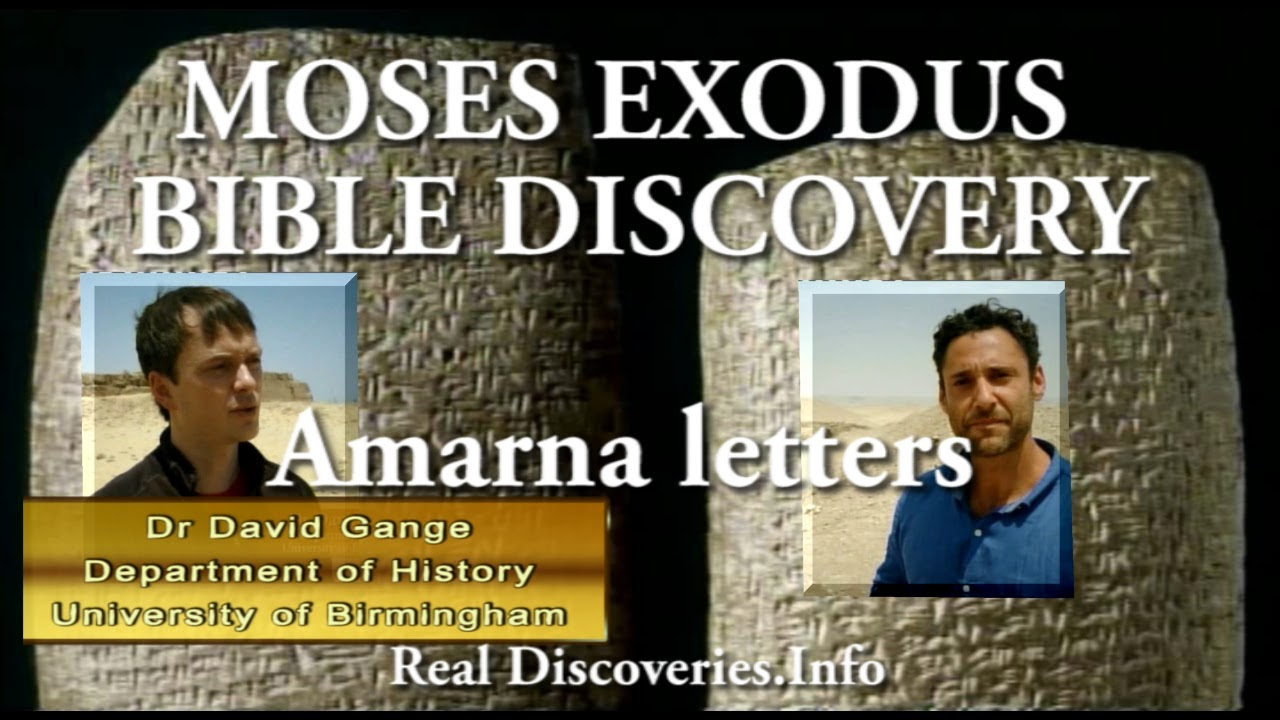 Dr David Gange of the Department of History, University of Birmingham. Confirms the accuracy of the Bible, discovered on ancient tablets known as the Amarna letters.