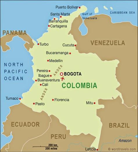 Colômbia | Mapas da Colômbia
