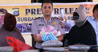 Dua Wanita Asal Aceh Ini Ditangkap Bawa Ganja Ke Padang