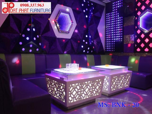 Mẫu bàn phòng karaoke hiện đại