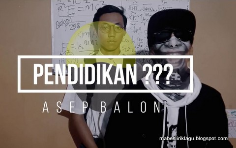 Asep Balon - Pendidikan