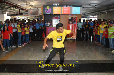 Cover Photo: Dance gave me - A Poem by Ronak Sawant