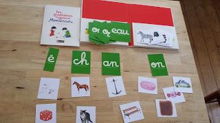 pochette de graphèmes rugueux Montessori avis critique blog chronique maternelle