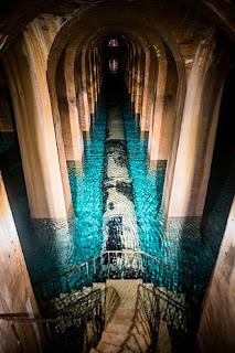 Le réservoir Montsouris, construit par E.Belgrand