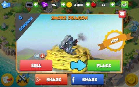 Screenshot Dragon Mania Legends