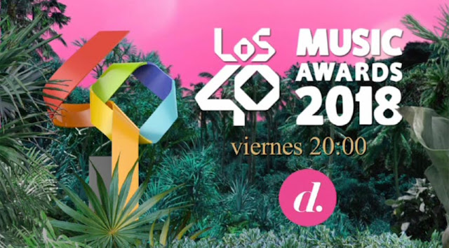 los 40 music awards 2018 en Divinity