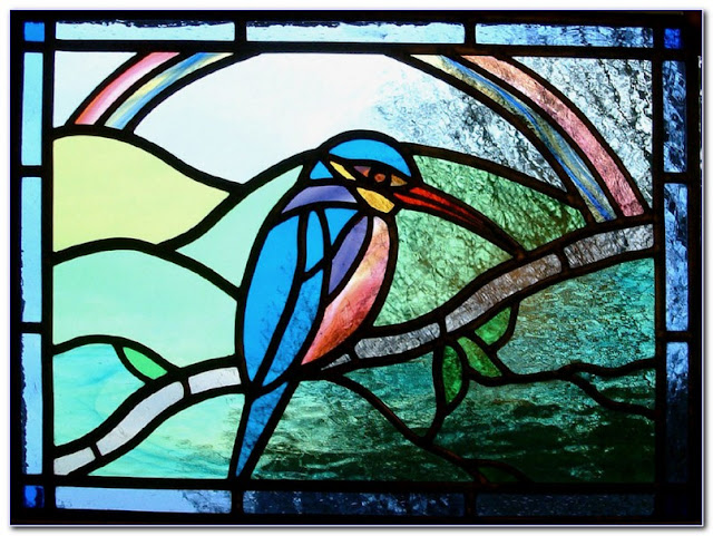 Stained Glass Window Covering Film