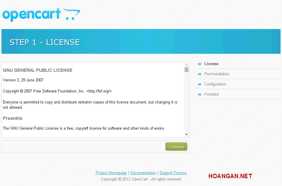 Hướng Dẫn Cài Đặt Opencart Trên Localhost