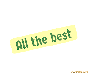 New All the best greetings png images