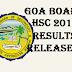 Goa board HSC 12th class 2016 results - Goa 12th results