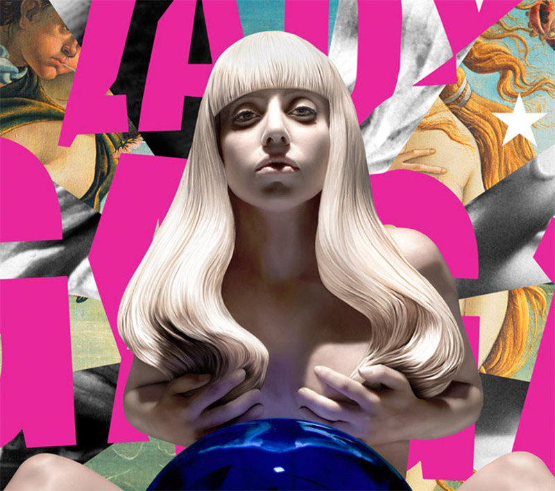 Jeff Koons' Cover For Lady Gaga's Album
