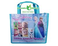 tas ultah frozen, tas souvenir frozen, tas ultah frozen murah, tas ultah anak murah, goodie bag frozen, souvenir frozen.