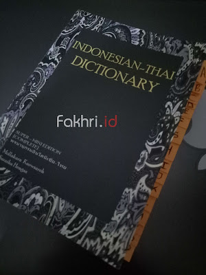 buku, bahasa, thai, thailand, kamus, dictionary, indonesia