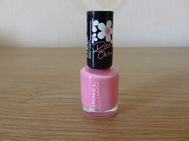 NOTD Rimmell Rita Ora Sweet Retreat