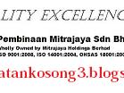 Jawatan Kosong Pembinaan Mintrajaya Sdn Bhd 21 Mei 2016