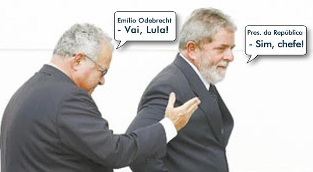 Resultado de imagem para ODEBRECHT DISCUTE SALDO DE LULA