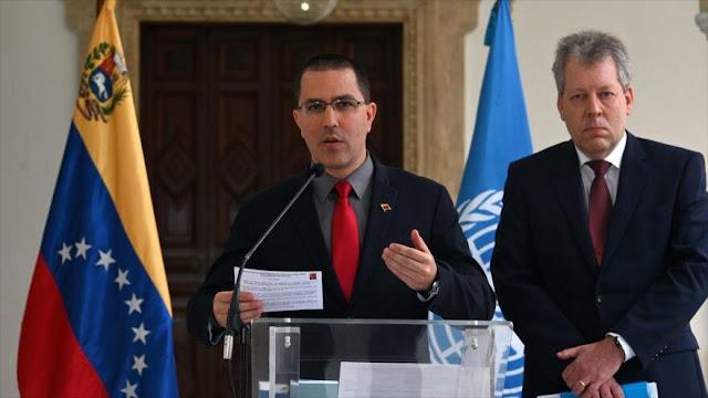 """Arreaza critica que Colombia debata """"si es subordinado"""" de EEUU"""