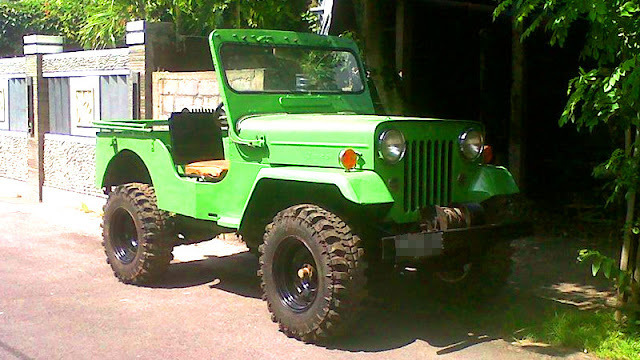 Mitsubishi Jeep Willys CJ3B