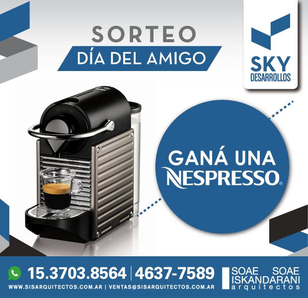 Gana Cafetera Nespresso
