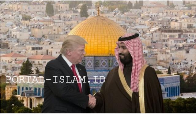 Main Mata SAUDI-TRUMP Gadaikan Al-Quds