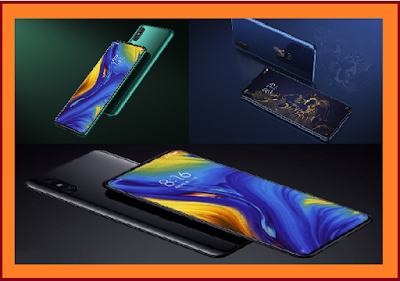 Xiaomi Mix 3 first Launch 5G Mobile and specification
