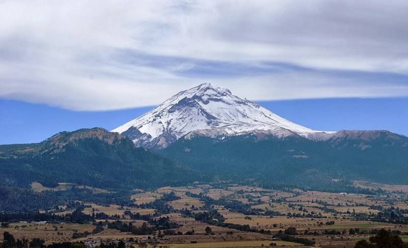 Popocatépetl Volcano, Mexico - Top 10 Stunning Volcanoes Around the World