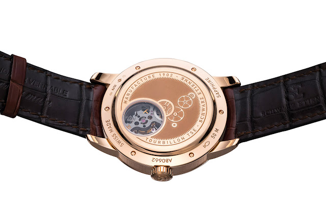 Schwarz Etienne Tourbillon PSR Mechanical Automatic Watch