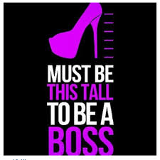 be a boss bitch shoe quotes