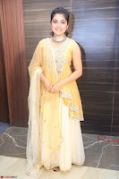 Nivetha Thamos in bright yellow dress at Ninnu Kori pre release function ~  Exclusive (59).JPG