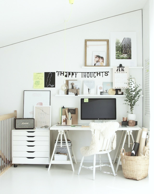 my scandinavian home sponsored post getting organized with post it notes. Black Bedroom Furniture Sets. Home Design Ideas