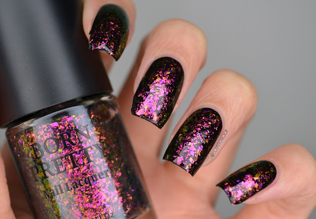 Born Pretty Violet Galaxy Swatch