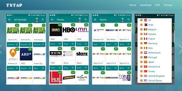 TVTAP una grandiosa app, para ver TV en android Totalmente gratis.