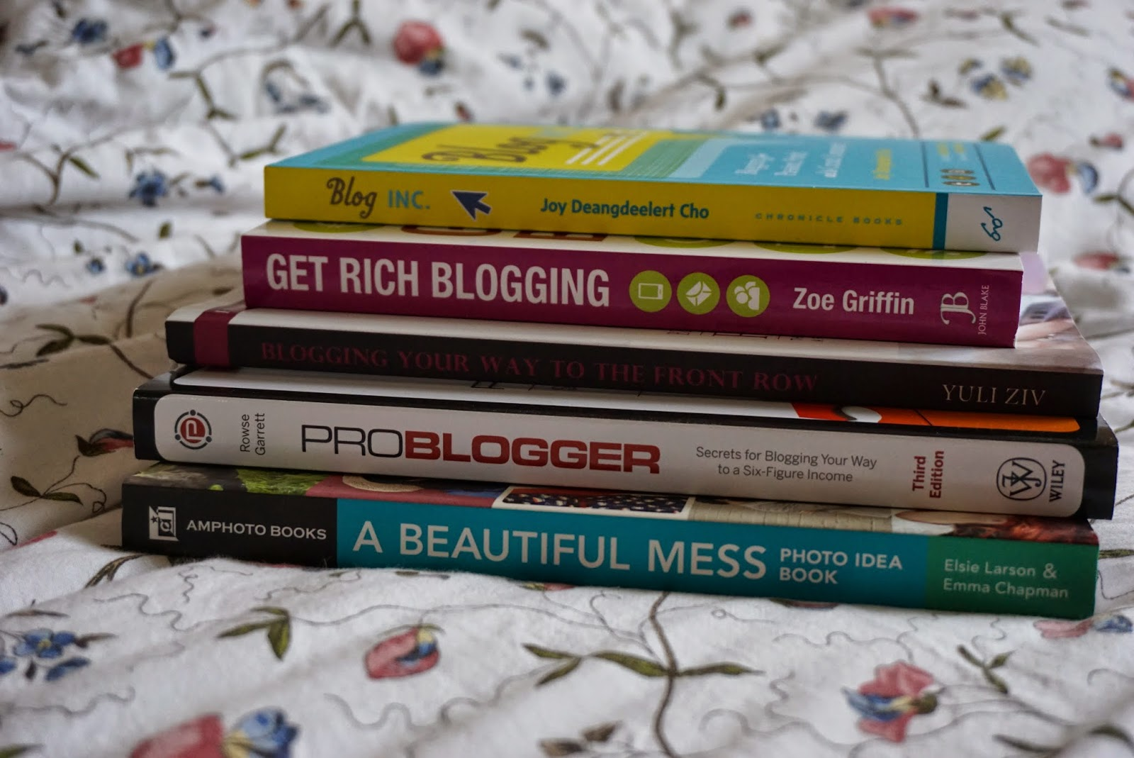 Books for bloging
