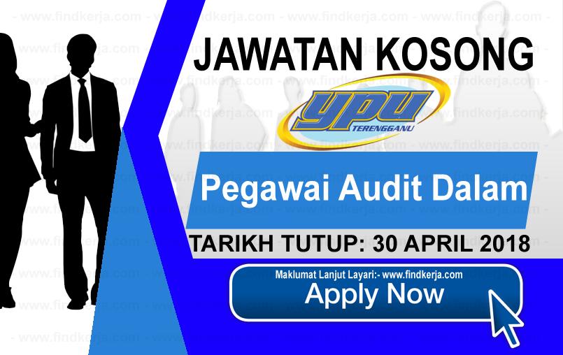 Jawatan Kerja Kosong YPU - Yayasan Pembangunan Usahawan Terengganu logo www.findkerja.com april 2018