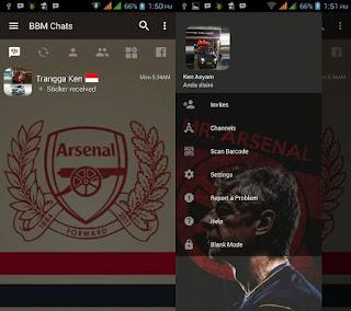 BBM Mod Arsenal F.C V3.2.0.6 Apk