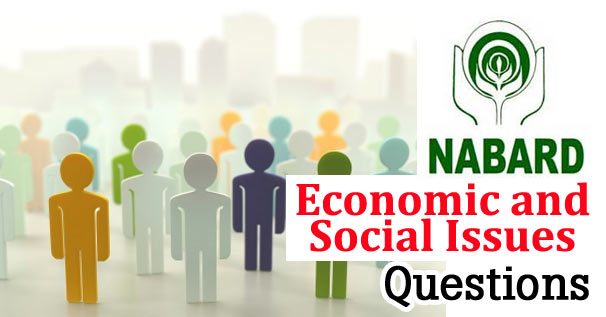 NABARD Economic & Social Issues Solved Question Paper 2017 PDF