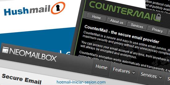 servicios de email encriptados