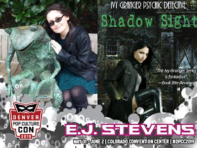 E.J. Stevens Denver Comic Con