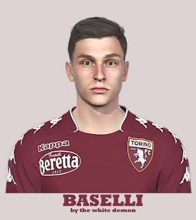 PES 2019 Faces Daniele Baselli by The White Demon