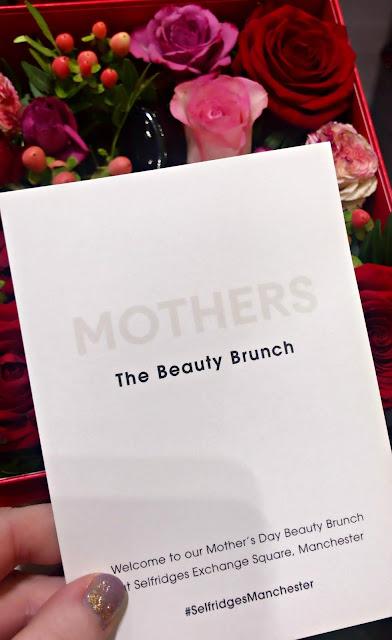 Danielle Levy, Armani, Armani Beauty, Armani Manchester, Selfridges, Selfridges Manchester, Liverpool blogger, Wirral blogger, Selfridges Mother's Day Beauty Brunch,