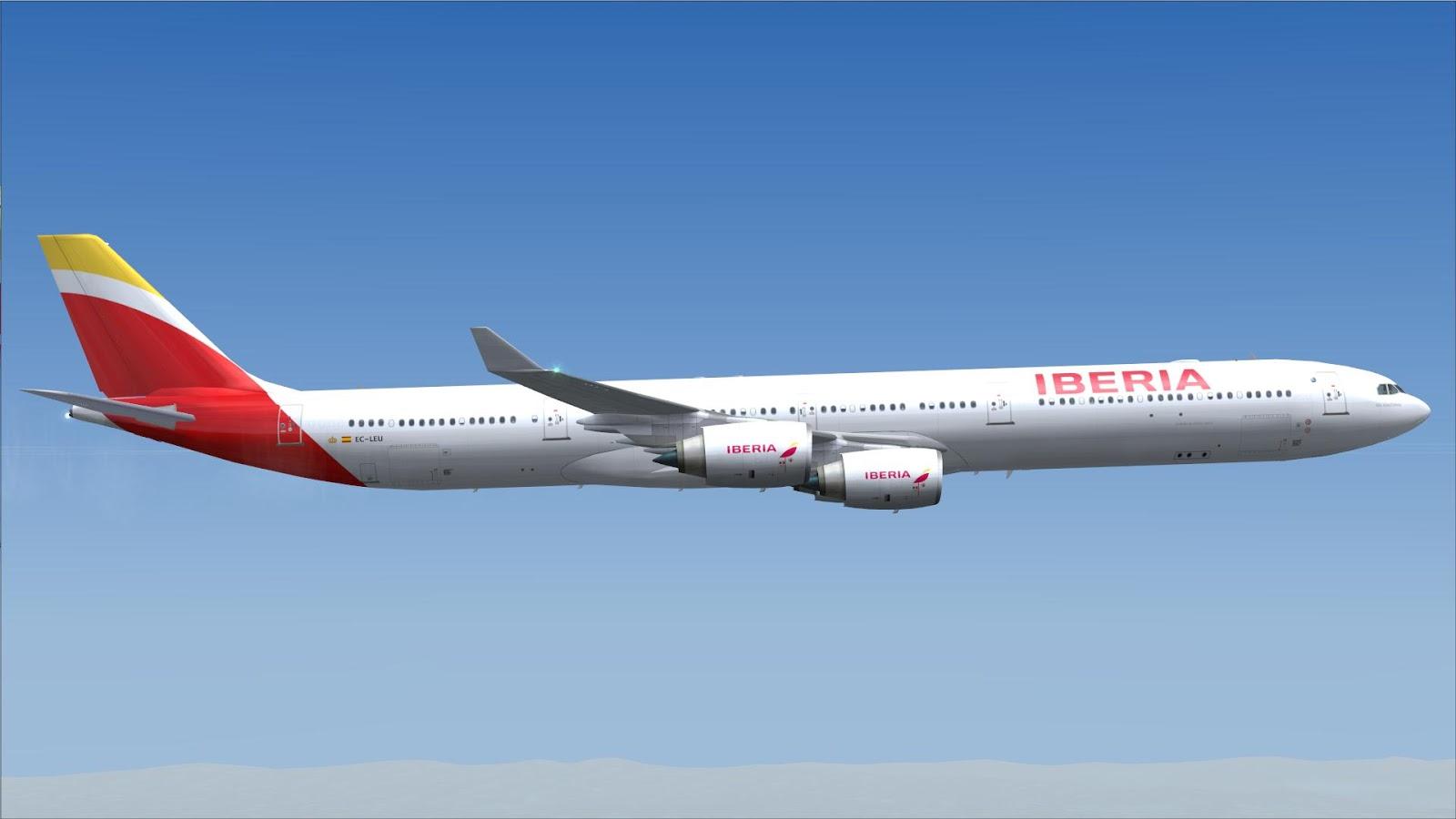 FSRepainter: CLS A340-600 Iberia EC-LEU