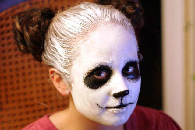 Panda Bear Face Paint
