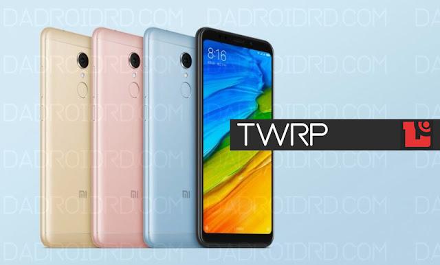 Cara install TWRP Xiaomi Redmi 5 Rosy