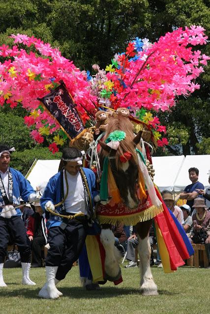 Hayama Matsuri, Hayama-jinja Shrine, Hayama Park, Kabayama, Mimata-cho, Miyazaki